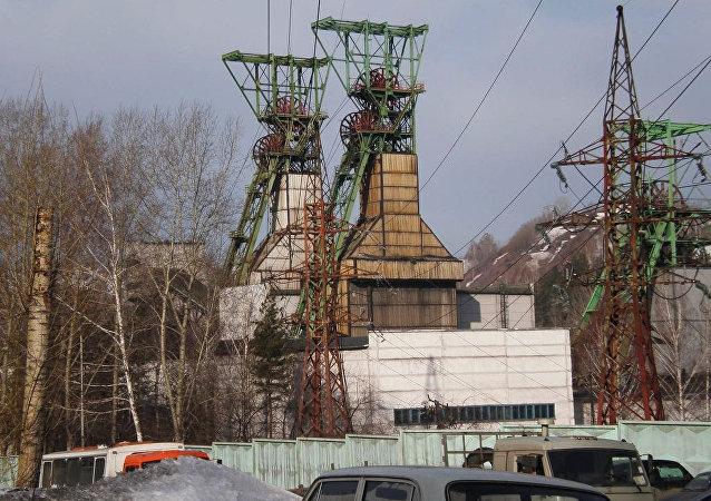 La mina de carbón Osínikovskaya en la provincia rusa de Kémerovo