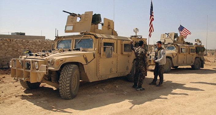 Fuerzas de EEUU en Siria (imagen referencial)