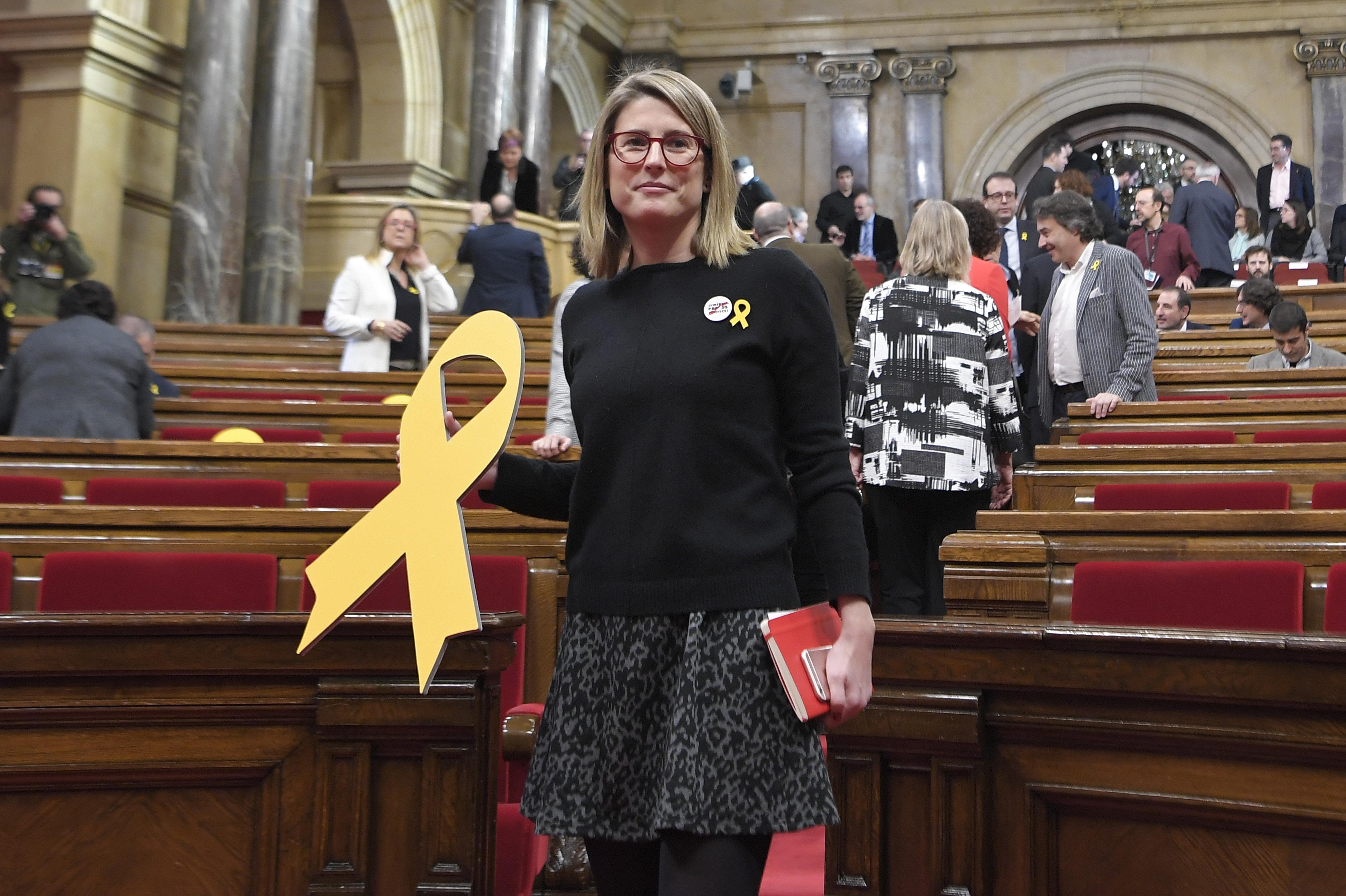 Elsa Artadi, la directora de campaña de Junts per Catalunya (JxCat)