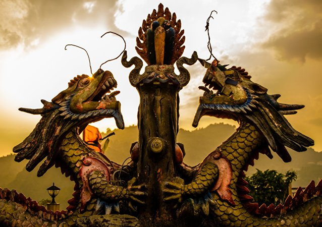 Dragones chinos, imagen referencial
