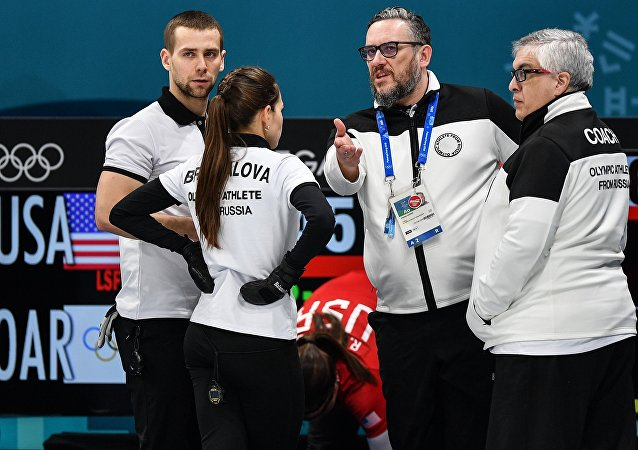 Los deportistas rusos en los JJOO-2018 en Pyeongchang
