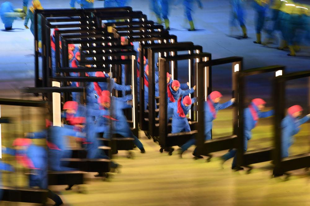 La espectacular inauguración de los JJOO en Pyeongchang