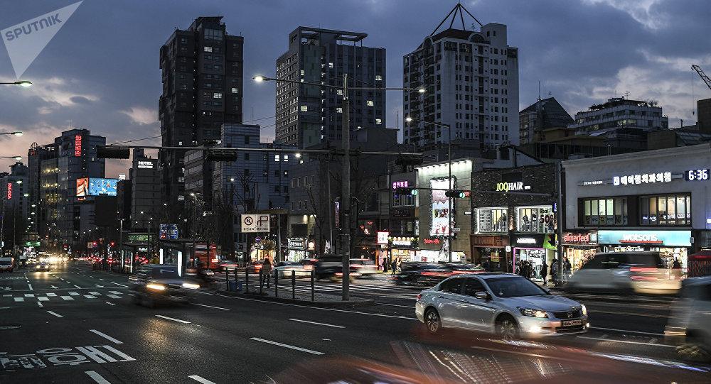 Una calle de Seúl (imagen referencial)