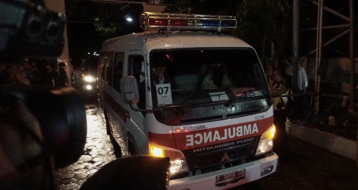 Ambulancia en Indonesia