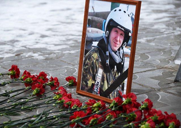 Román Filípov, piloto ruso fallecido en Siria
