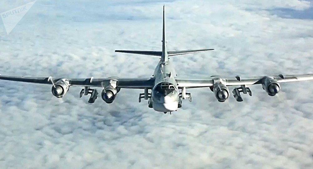 Un bombardero estratégico ruso (imagen referencial)