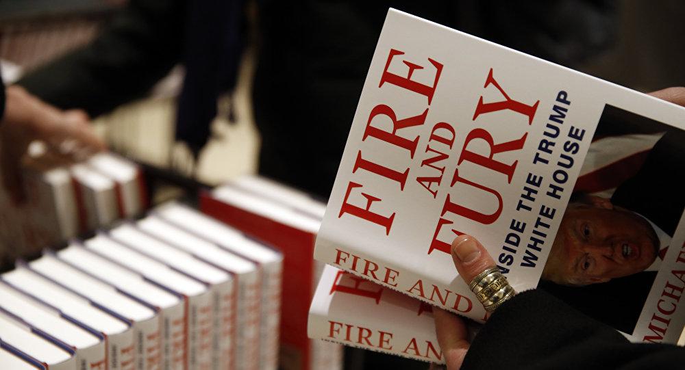 El libro 'Fuego y Furia: Dentro de la Casa Blanca de Trump'