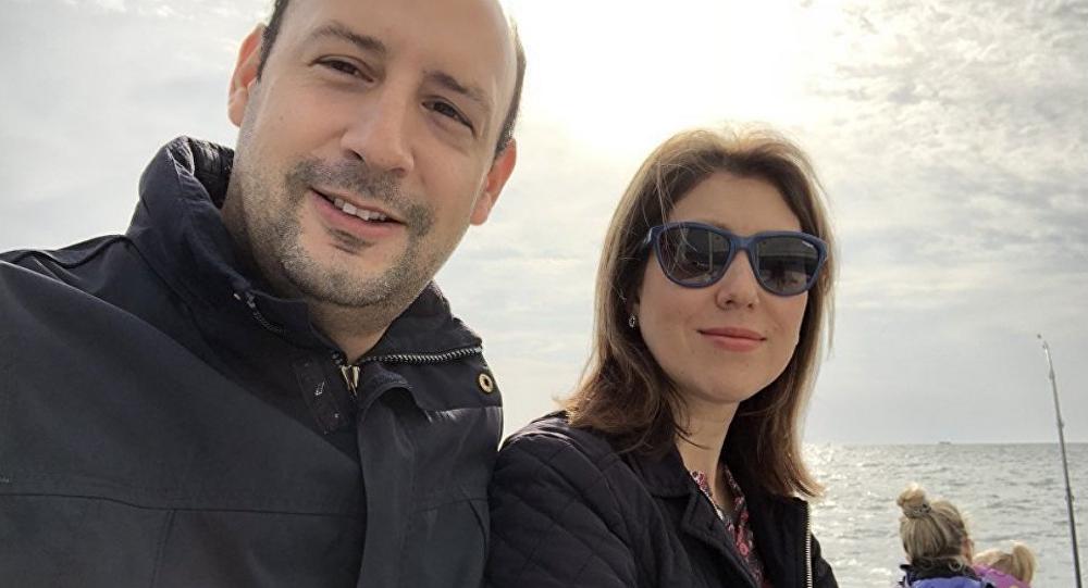 Pablo Rincón y su esposa Alina