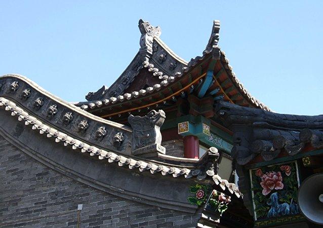 La arquitectura en Mongolia Interior, China (imagen referencial)