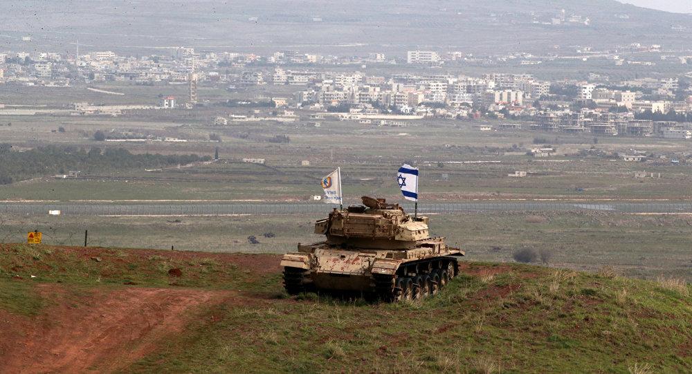 Tanque de Israel en Siria (archivo)