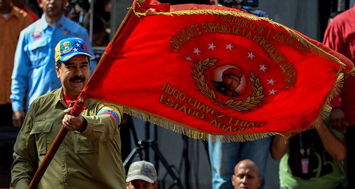 Nocolás Maduro, presidente de Venezuela
