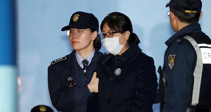 Choi Soon-sil, amiga de la expresidenta surcoreana Park Geun-hye