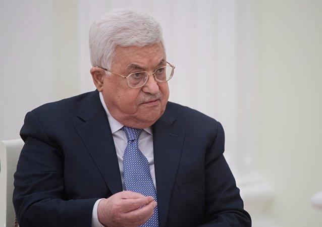 Mahmud Abás, presidente de la Autoridad Palestina
