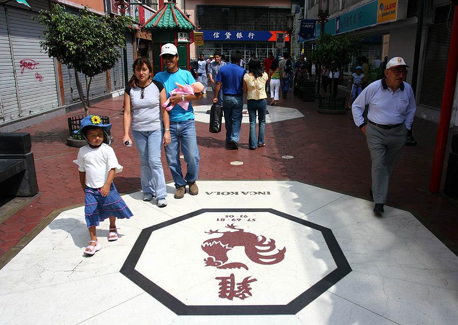 Barrio chino de Lima
