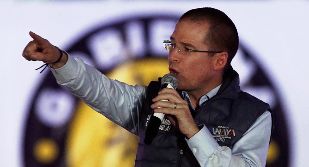 Ricardo Anaya, precandidato presidencial opositor de México