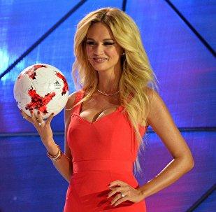 Victoria Lopyreva, embajadora de la Copa Mundial de la FIFA Rusia 2018
