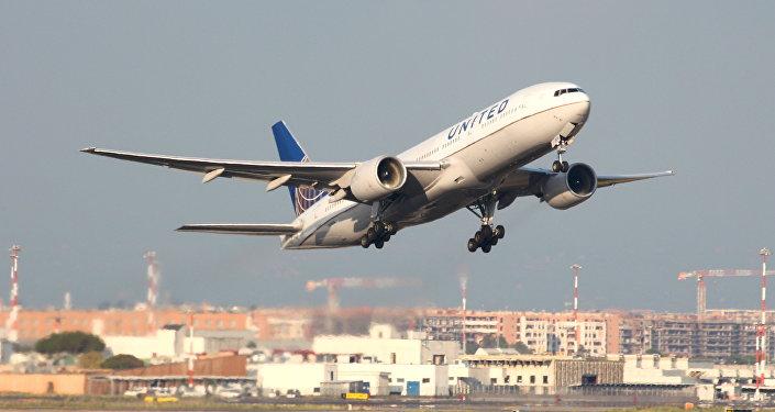 Un Boeing 777 de United Airlines