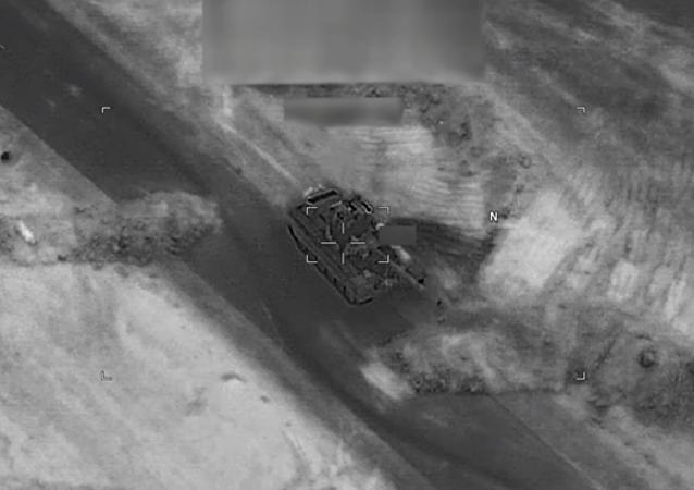 El vídeo del ataque contra las fuerzas progubernamentales sirias