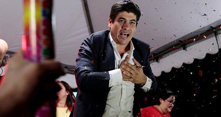 Carlos Alvarado, candidato a la presidencia de Costa Rica