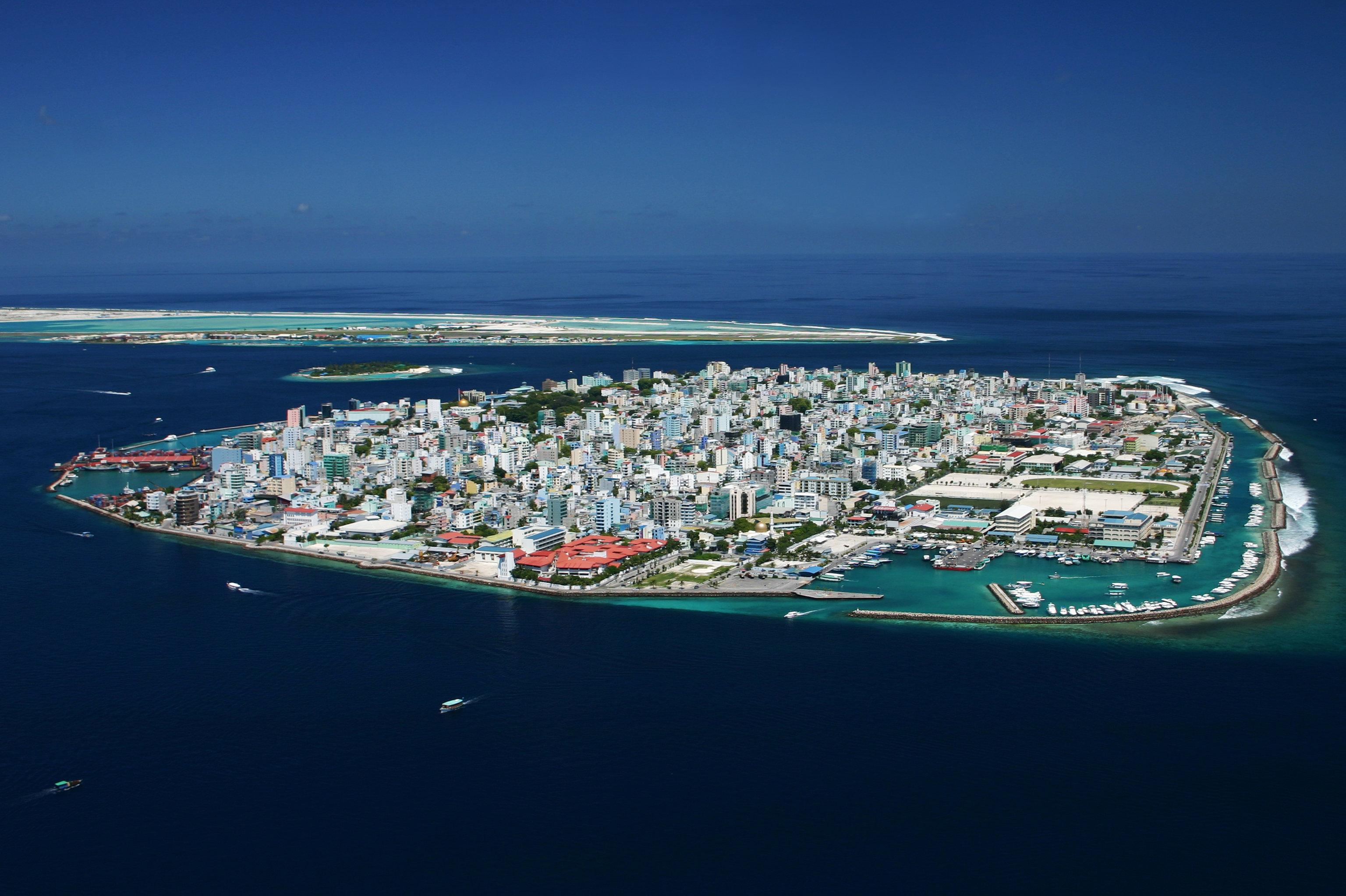 Malé, la capital de la República de las Maldivas