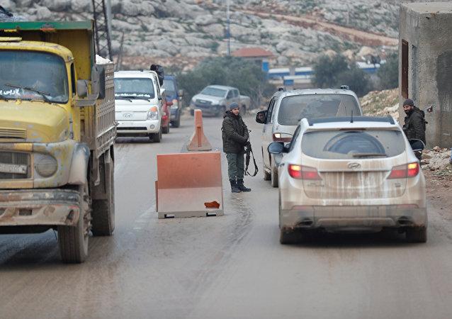 Al-Bab, la ciudad cerca de la frontera turco-siria (archivo)