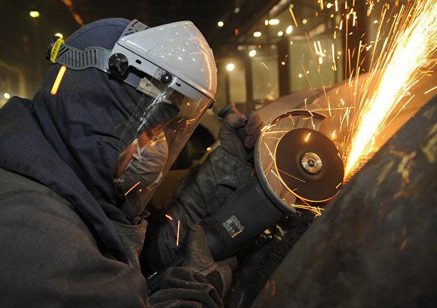 Industria de fundición de acero en Rusia (archivo)
