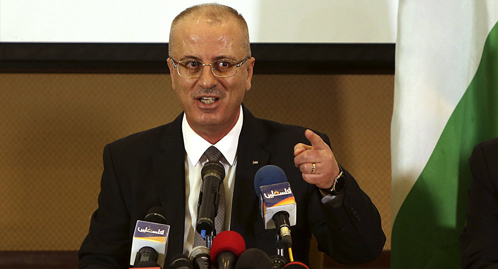 Rami Hamdalá el primer ministro palestino