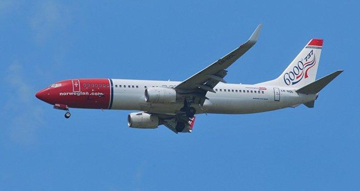 Avión de Norwegian Air (archivo)