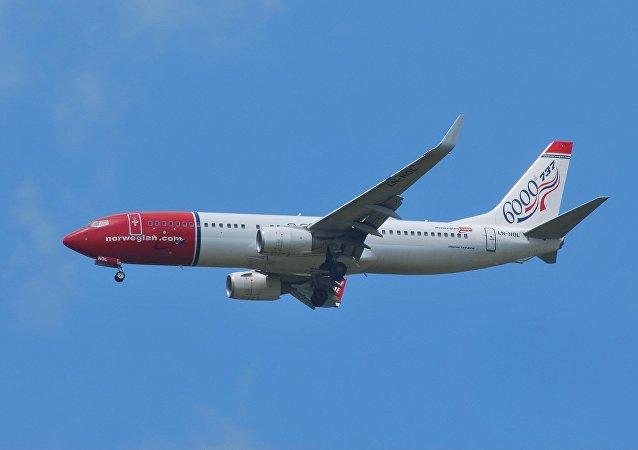 Avión de Norwegian Air