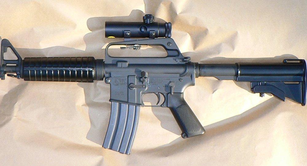 Un rifle (imagen referencial)