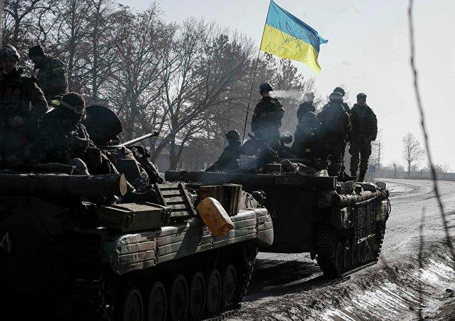Soldados del Ejército ucraniano (archivo)