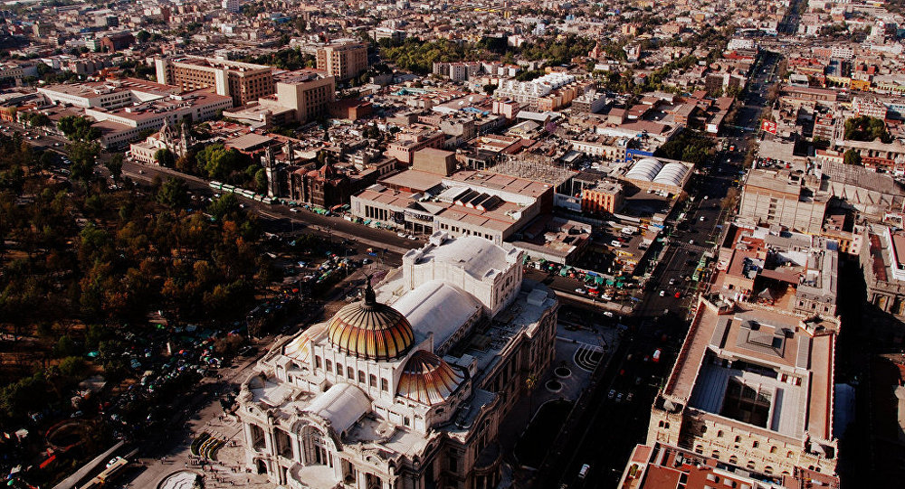 La Ciudad de México, capital de México