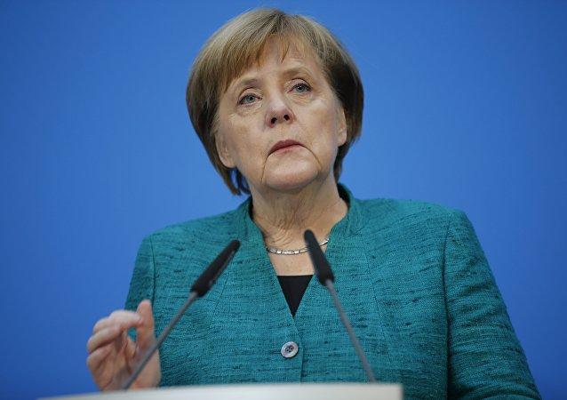 Angela Merkel, la canciller de Alemania