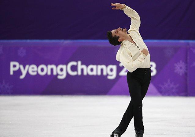 El patinador español, Javier Fernández