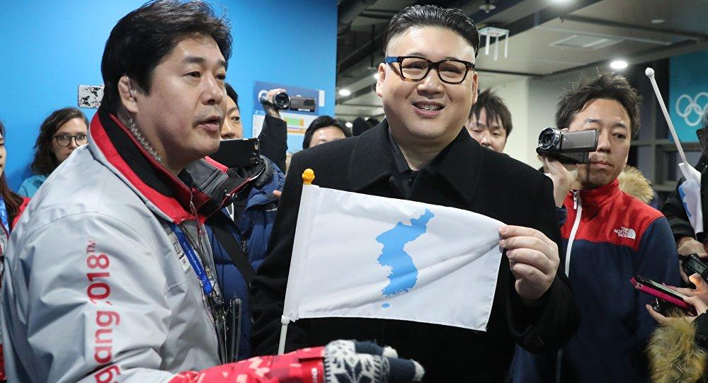 El doble del líder norcoreano Kim Jong-un