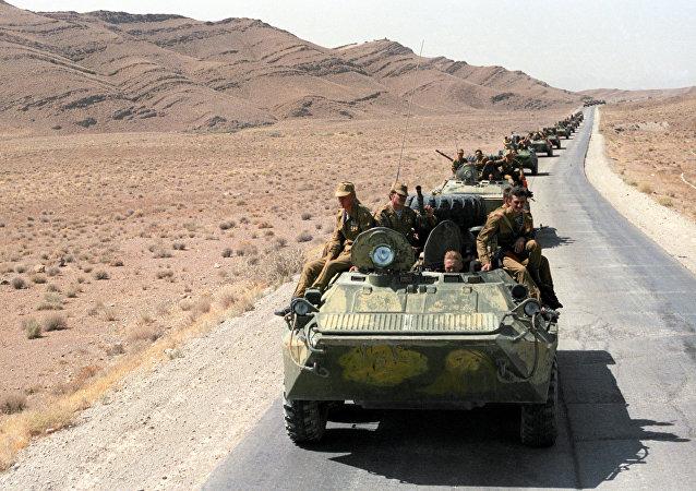 La retirada de las tropas soviéticas de la ciudad afgana de Kandahar  (agosto 1988)