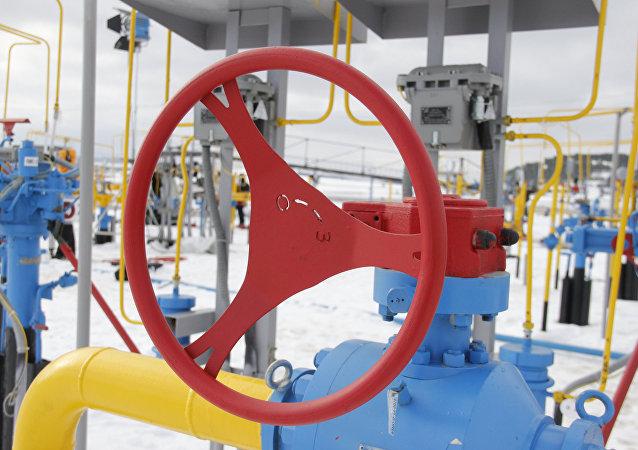 Una tuberia de gas (imagen referencial)