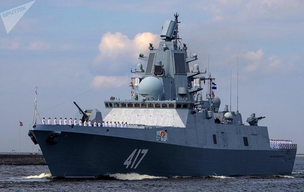 La fragata Almirante Gorshkov