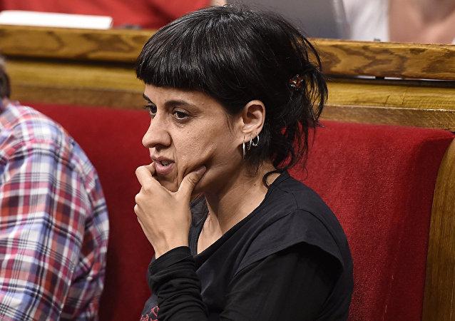 Anna Gabriel, exdiputada de la CUP (foto de archivo)
