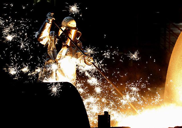 Producción de acero en Alemania