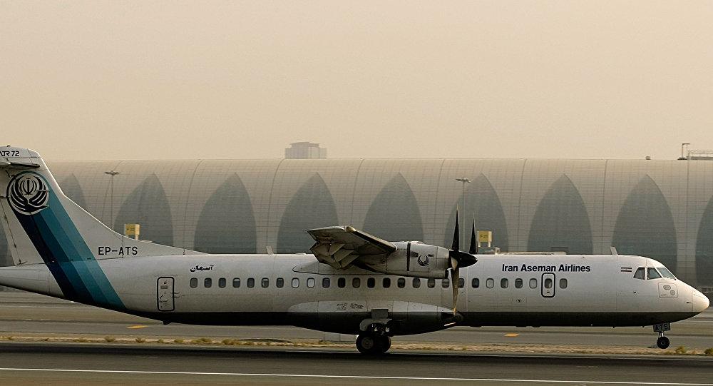Un avión ATR 72 (archivo)