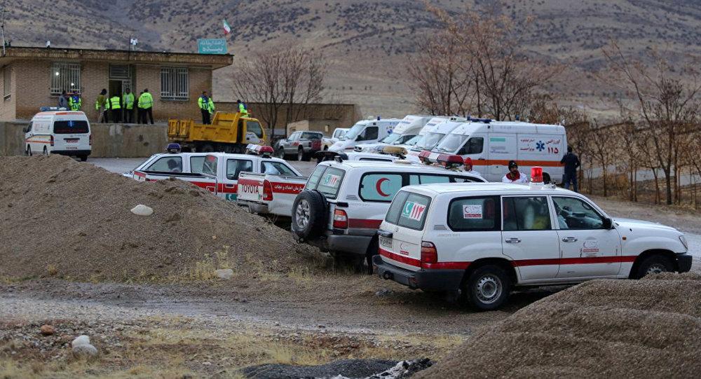 Labores de búsqueda de fragmentos del avión iraní siniestrado el 18 de febrero