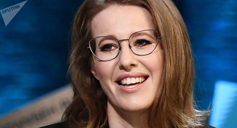 Ksenia Sobchak, del partido Iniciativa Civil