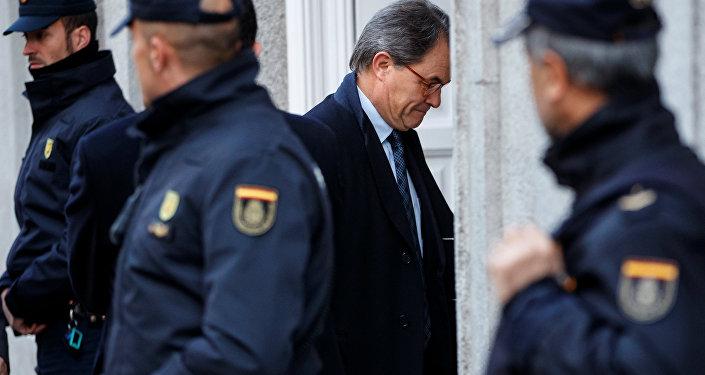 Artur Mas, expresidente catalán
