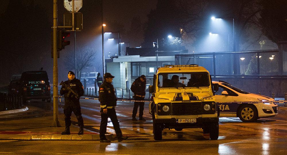 Grupo armado ataca embajada de EE.UU. en Montenegro