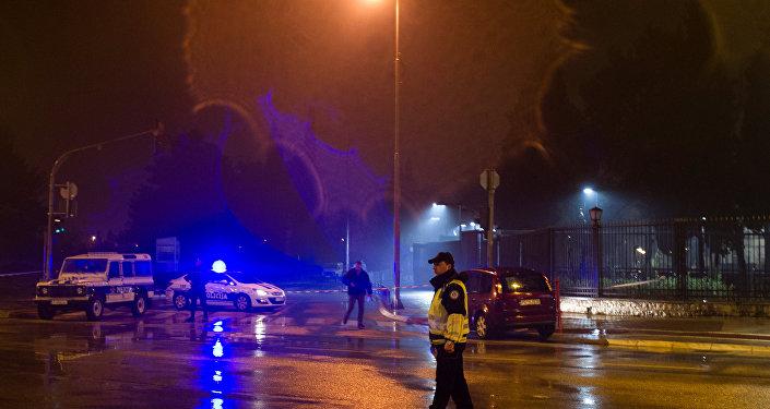 El ataque a la embajada de EEUU en Podgorica, Montenegro