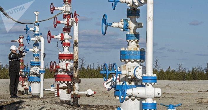 Yacimiento de gas ruso (imagen referencial)