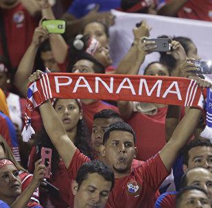 Hinchas de la selección de Panamá