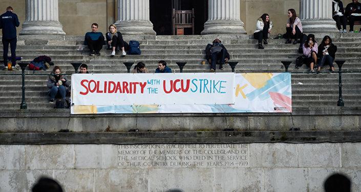 Huelga de profesores, Londres, Reinio Unido