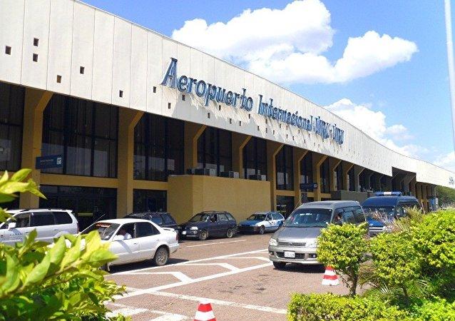 El aeropuerto internacional de Viru Viru en Santa Cruz de la Sierra